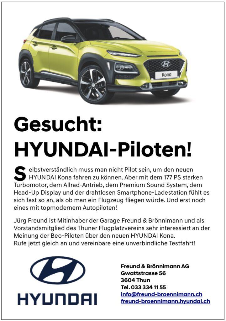 Freund & Brönnimann HYUNDAI