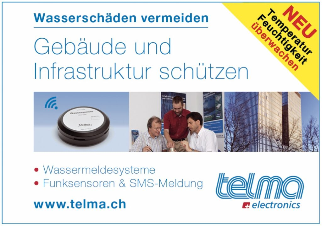 Telma Electronics Wassermeldesysteme